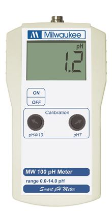 Picture of MW100 - Standard Portable pH Meter with 0.1 pH resolution