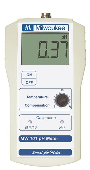Picture of MW101 - Standard Portable pH Meter with 0.01 pH resolution
