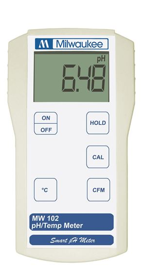 Picture of MW102 - Standard Portable pH / Temperature Meter
