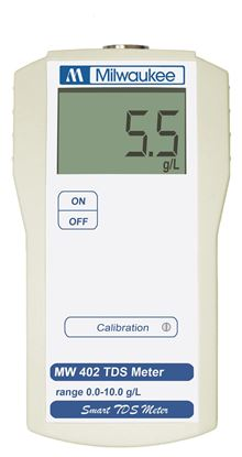 Picture of MW402 - Standard Portable TDS Meter (range: from 0.0 to 10.0 g/l)