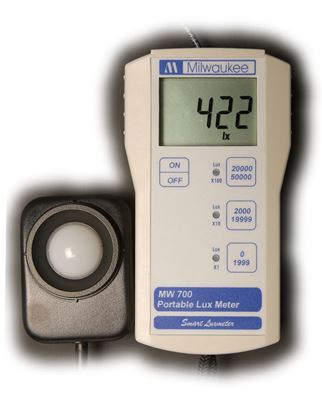Picture of MW700- Standard Portable Lux Meter with waterproof probe