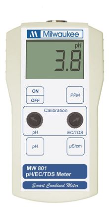 Picture of MW801 - Standard Portable pH / Conductivity / TDS Combination Meter