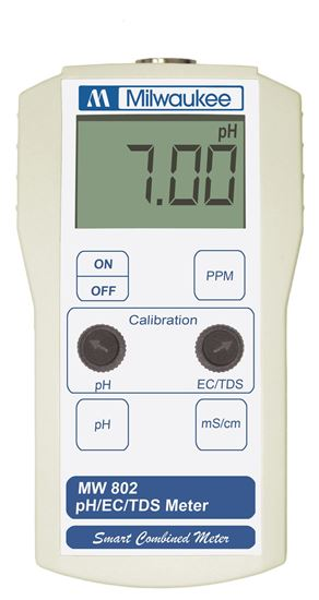 Picture of MW802 - Standard Portable pH / Conductivity / TDS Combination Meter