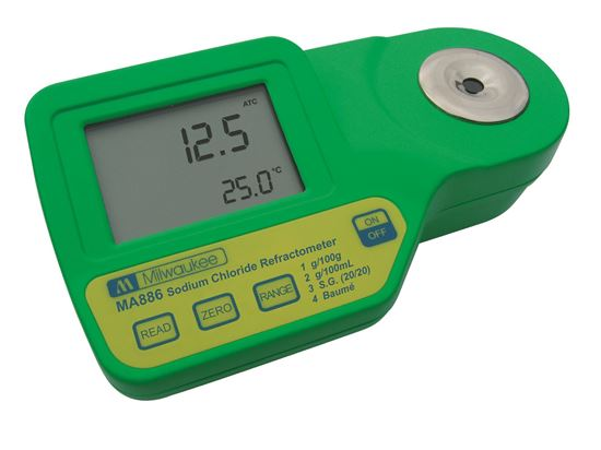 Picture of MA886 -  Digital Refractometer for Sodium Chloride Measurements
