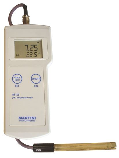 Picture of Mi105 - pH / Temperature Professional Portable Meter