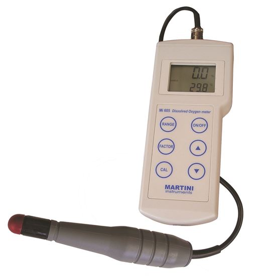 Picture of Mi605 - Dissolved Oxygen / Temperature Professional Portable Meter
