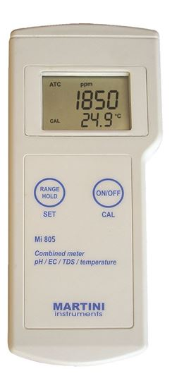 Picture of Mi805 - pH / Conductivity / TDS / Temperature Professional Portable Meter
