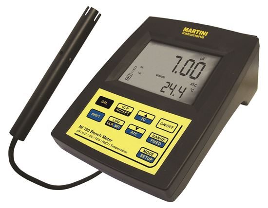 Picture of MI 180-US - pH / ORP / Conductivity / TDS / NaCl / Temperature Laboratory Bench Meter