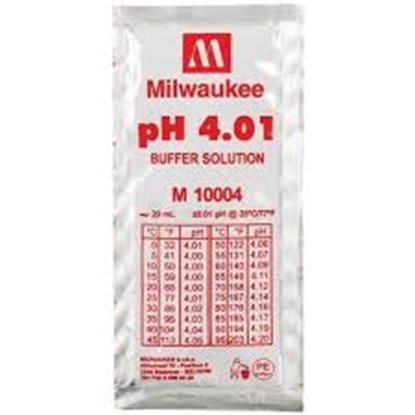 Picture of M10004B - pH 4.01 Calibration Buffer Solution (box of 25x20 ml sachet)
