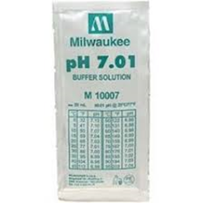 Picture of M10007B  - pH 7.01 Calibration Buffer Solution (box of 25x20 ml sachet)
