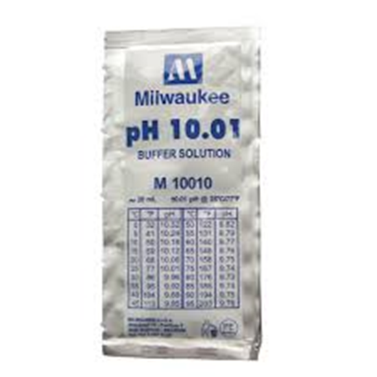 Picture of M10010B  - pH 10.01 Calibration Buffer Solution (box of 25x20 ml sachet)