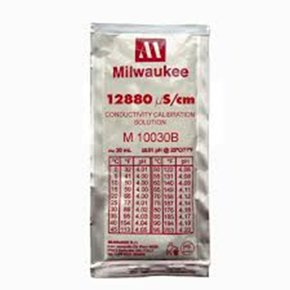 Picture of M10030B - 12880 µS/cm Conductivity Calibration Solution (box of 25x20 ml sachet)