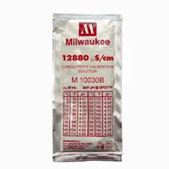 Picture of M10030B - 12880 µS/cm Conductivity Calibration Solution (box of 25x20 ml sachet)