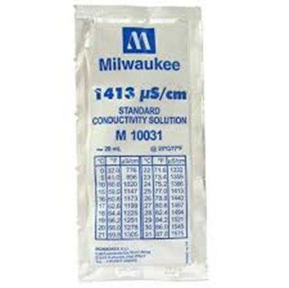 Picture of M10031B - 1413 µS/cm Conductivity Calibration Solution (box of 25x20 ml sachet)