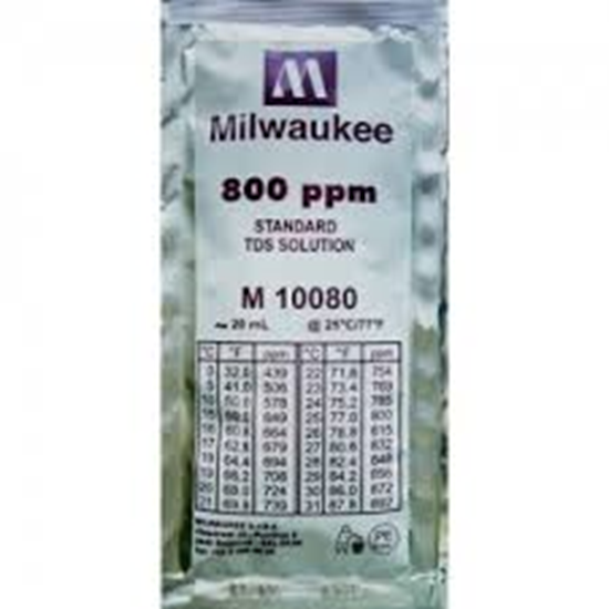Picture of M10080B - 800 ppm TDS Calibration Solution (box of 25x20 ml sachet)