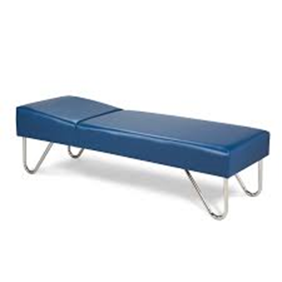 """Picture of 3600-24 - Chrome leg couch 24"""" wide"""