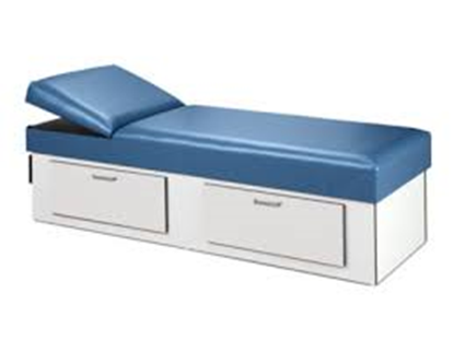 Picture of 3713-16 - 2 Drawer Couch w/Adj Wedge
