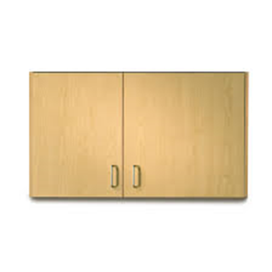 "Picture of 8242-9 - 42""Wall Cabinet with 2 Doors"