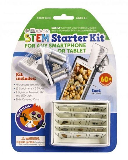 Picture of STEM-MINI STEM Starter Kit: Smartphone Microscope and 3D Slides