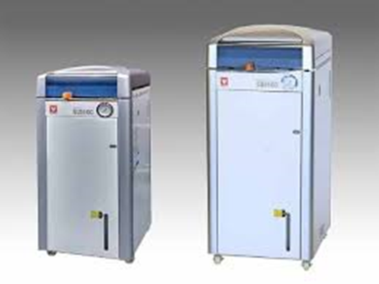 Picture of SQ-500C  - LARGE CAPACITY LABO USE STERILIZER W/OUT DRYER 50L 100-120V 20.5~24.5A 50/60Hz