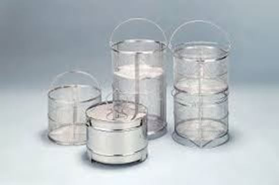 Picture of 241091 - Mesh basket with 3 stacking fittings for SM/SN/SE500 (OSQ-50)