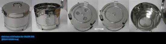 Picture of 241098 - Stainless solid basket for SQ500 (OSR-60)