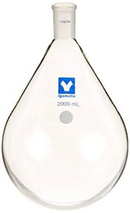Picture of 25527354 - Evaporating flask 24/40 200ml for RE47/50/52/200/201/400/500