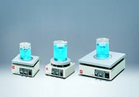 Picture of MH-520 - MAGNETIC STIRRER WITH HOT PLATE 150~1300 rpm 115-240V 50/60Hz