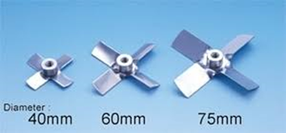 Picture of 2310630101 - 2-stage turbine propeller (DIA60mm ID 10mm) for LR-400/500