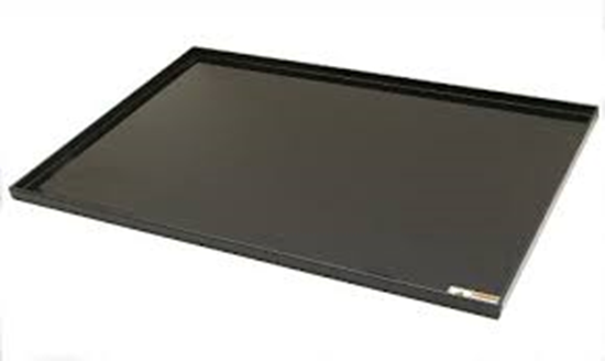 """Picture of TRAY-P5S - Spill Tray for P5-24S Polypropylene with 1"""" Lip"""