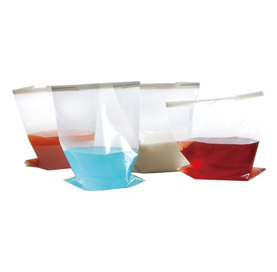 Picture of B5761 Sterile Bag, 4oz, 178mm x 76mm, Printed