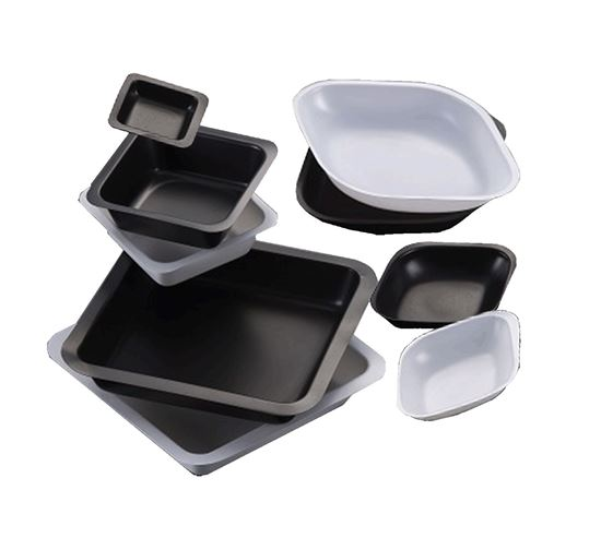 Picture of B6002B Weigh Boat, black, 100ml, 80 x 80mm