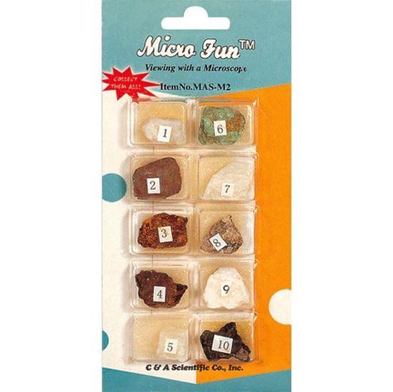 Picture of MAS-M2 - 10 pcs Minerals Set