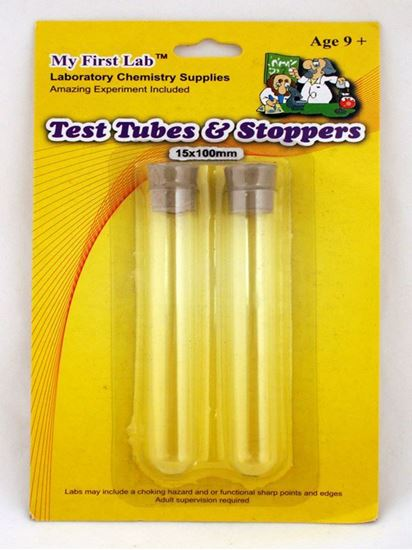 Picture of SS-11 - Glass Test Tubes (2) w/ stoppers