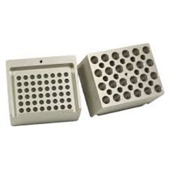 Picture of BV1010-50HQ - Tube Rack for 7x50ml QuEChERs, horizontal