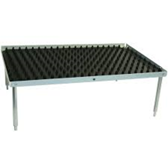 "Picture of BR1000-STACK-D - Stacking Platform, large 12""x12"" w/Dimpled Mat  (3.0"" separation)"