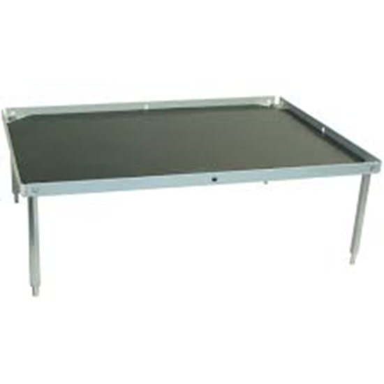 """Picture of BR2000-STACK - Stacking Platform, Extra Large 14""""x12"""" W/Flat Mat  (3.0"""" separation)"""