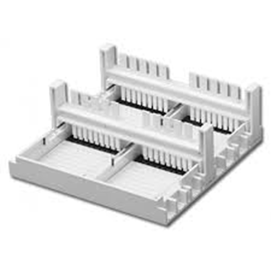 Picture of E1101-CS2  - Gel Casting Stand for 5x6cm gels, includes 4 trays, and 2 combs (18/10 teeth)