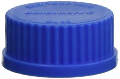 Picture of B3000-CAP2 - Replacement cap, standard blue (GL32), 10/pk.