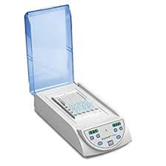 Picture of BSH5002-2B - myBlock ll™- digital dry bath with 2 Quick-Flip blocks (BSWCMB) for tubes (0.2 to 2.0ml, PCR strips and PCR plates, 115V