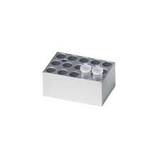 Picture of BSH100-1520 - Block, 15 x 1.5ml or 2.0ml centrifuge tubes (conical)