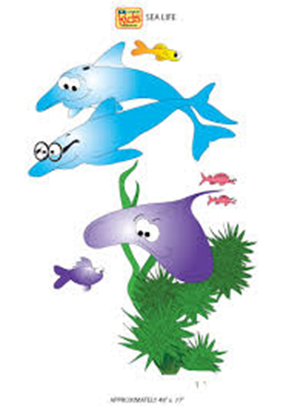 Picture of 08-CC - Sea Life Wall Sticker