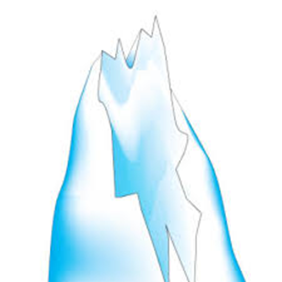 Picture of 10-CC-2 - Ice Mountain Wall Stickers-#2