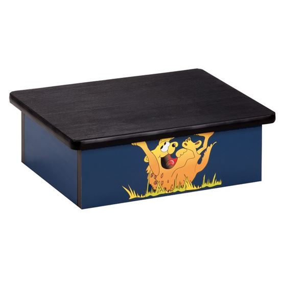 Picture of 10-H - Step Stool w/Hyena