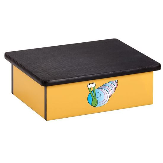 Picture of 10-OS - Step Stool Featuring Smiling Snail
