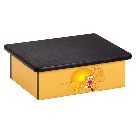 Picture of 10-SL - Step Stool Featuring Lion Cubs