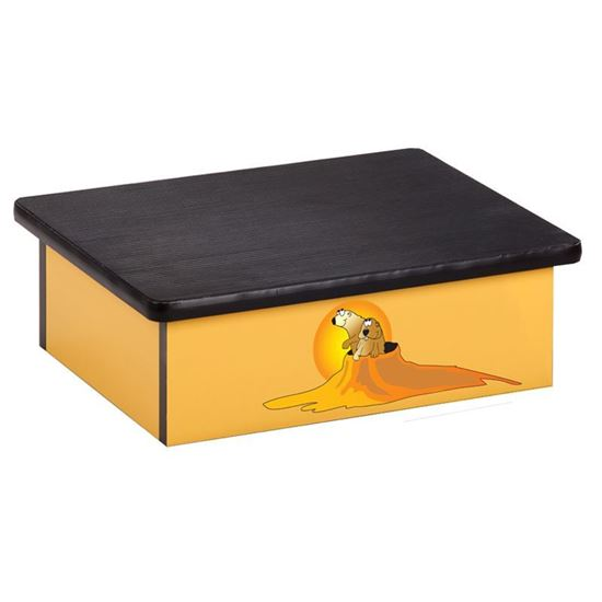 Picture of 10-SW - Step Stool Featuring Prairie Dog Bourough
