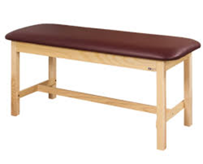 "Picture of 100-24 - H-Brace Table 24"" Wide-Classic-FLAT TOP"