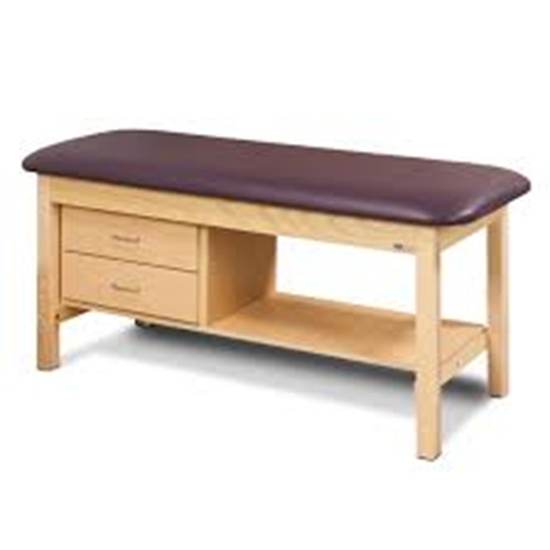 """Picture of 1300-30 - 2 Drawer Table 30"""" Wide-Classic-FLAT TOP"""