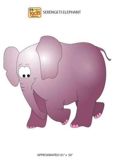 Picture of 13-CC - Elephant Wall Sticker